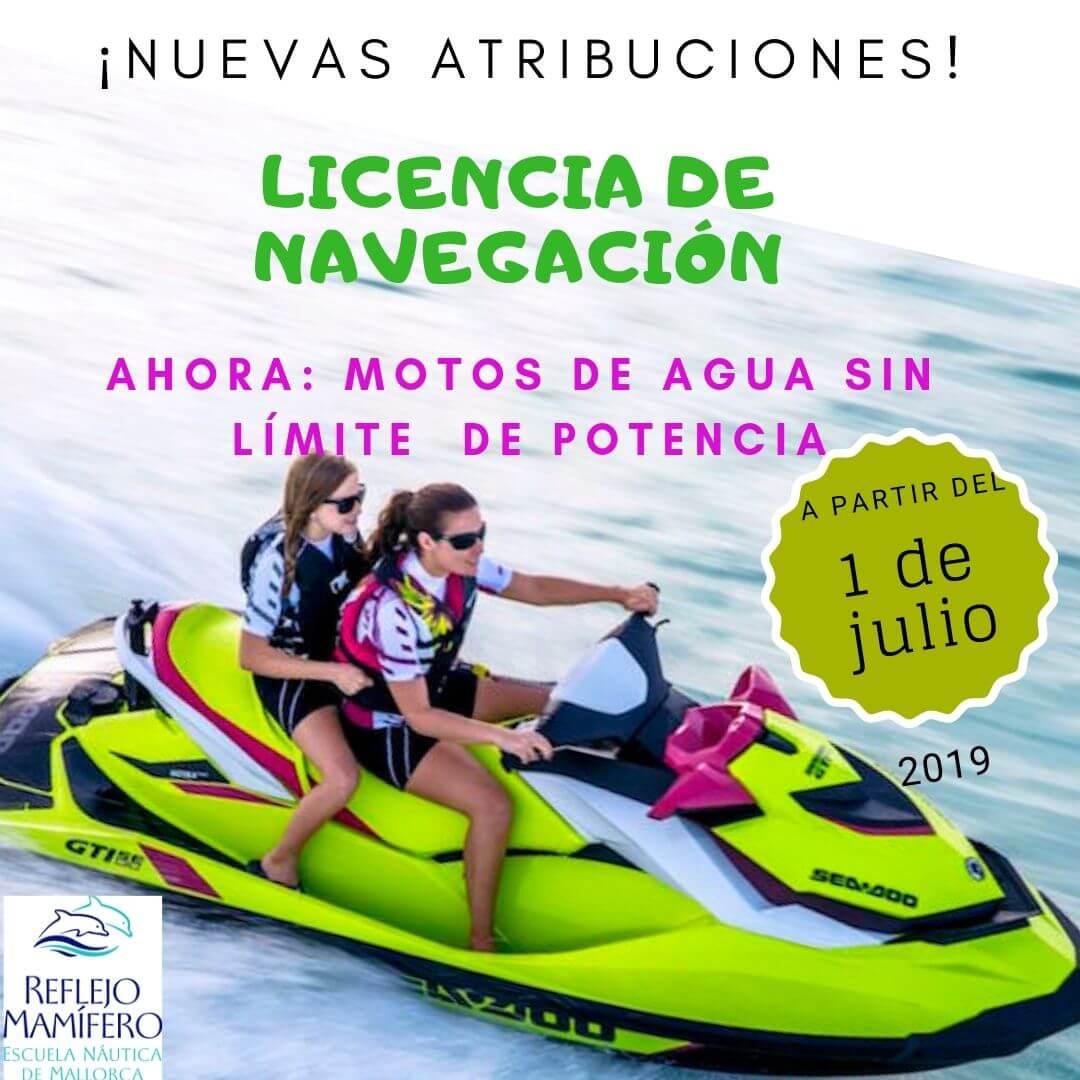 Licencia de Navegación en Mallorca